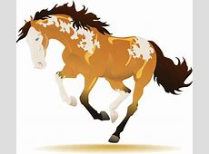 Running horses free vector free vector download 1,203