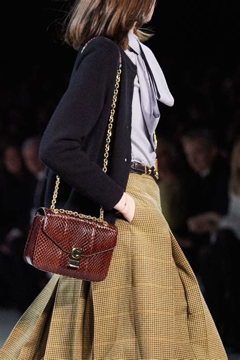 celine fallwinter  runway bag collection spotted fashion