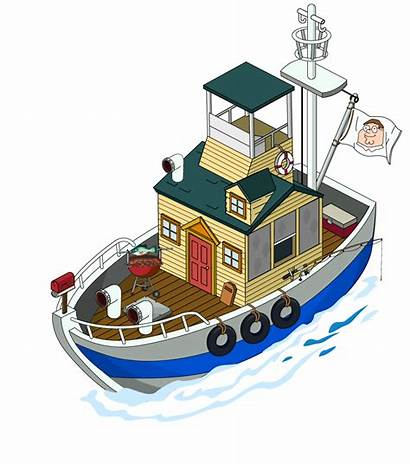 Boat Guy Houseboat Clipart Quest Stuff Griffin
