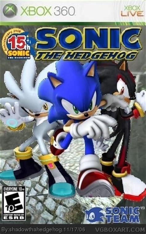 sonic  hedgehog xbox  box art cover  shadowthahedgehog