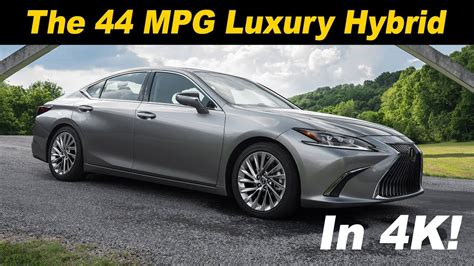 lexus es    mpg luxury car youtube