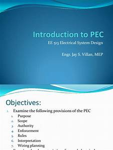3 Introduction To Pec