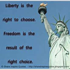Famous Quotes About Freedom And Liberty Image Quotes At