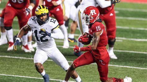 Michigan vs. Rutgers score: Live game updates, college ...