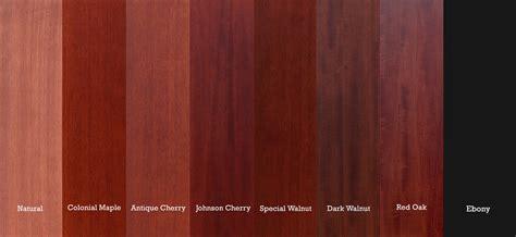 Mahagoni Farbe Holz by Wood Door Finishing At Nicks Building Supply