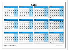 Calendarios 2018 LD Michel Zbinden ES