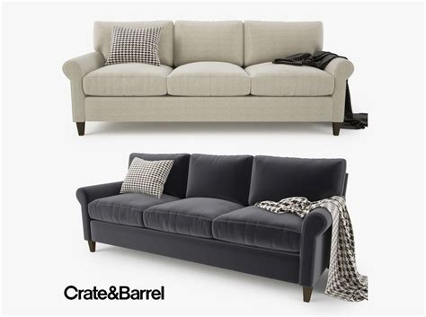 Crate And Barrel Sofas Montclair 3 Seater Sofa Crate And