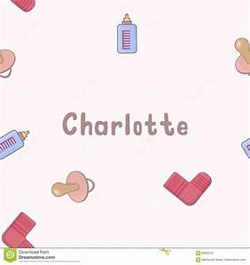 Seamless Background Pattern Name Charlotte Of The Newborn ...