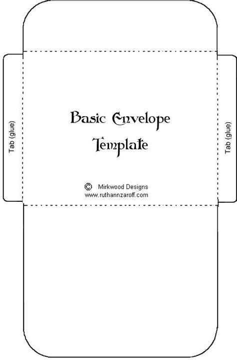 gift card envelope template envelope template crafts to make l 229 dor och skisser