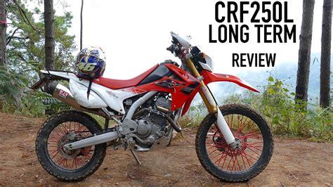 honda crfl long term review   youtube