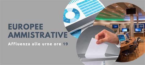 ministero dell interno archivio elezioni elezioni 2019 affluenza alle urne ore 19 ministero dell