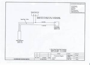 Lh176 Depth Transmitter  U0026 Transducer
