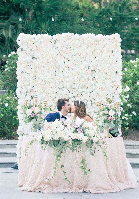 25 Best Ideas About Sweetheart Table Backdrop On