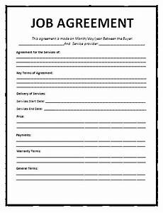 job agreement templategif pay stub template With wage agreement template
