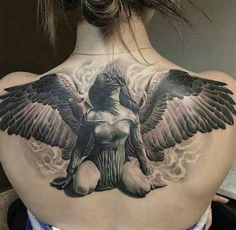Fallen Angel Tattoo For Women  Wwwpixsharkcom Images