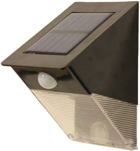 12 led solar powered pir motion sensor security light with