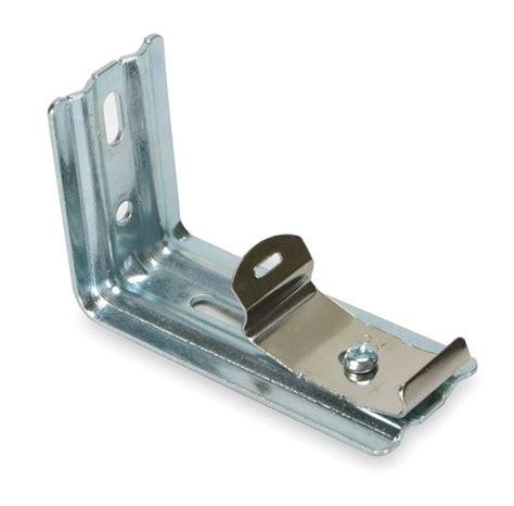 vertical blind hardware 3 quot l vertical blind steel bracket bracket silver