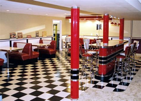 Kieth Retro Home Diner » Bars & Booths
