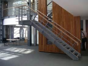 Industrial Steel Staircase Design
