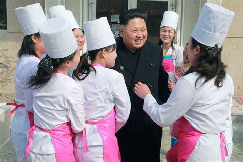 Kim Jong Un North Korean Women
