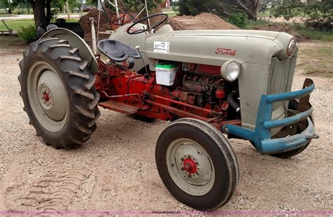 Ford Jubilee by 1953 Ford Golden Jubilee Tractor Item F7813 Sold June