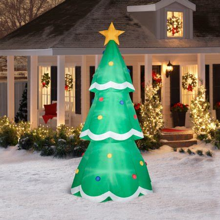 gemmy airblown christmas inflatables  giant tree