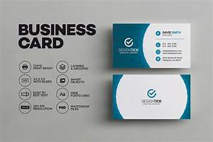 Modern business card template business card templates for Template business card