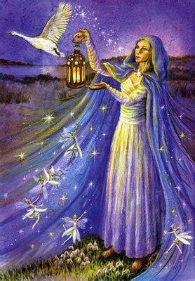 Celtic Lady: IMBOLC/BRIGHID'S DAY   Celtic goddess, Celtic ...