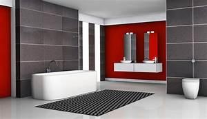 recouvrir un carrelage pour ameliorer la deco With salle de bain design avec bandes décoratives pour auto