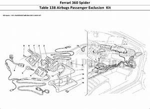 Buy Original Ferrari 360 Spider 138 Airbags Passenger