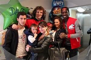 Eden - Natacha - Yanis - David Luiz & Demba Ba family ...