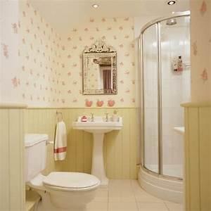 Badezimmer Tapete Wasserabweisend : badezimmer design ohne fliesen wandpaneele tapeten blumen ~ Michelbontemps.com Haus und Dekorationen