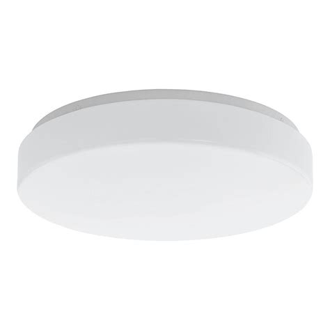 eglo palomaro white led ceiling light 93388a the home depot