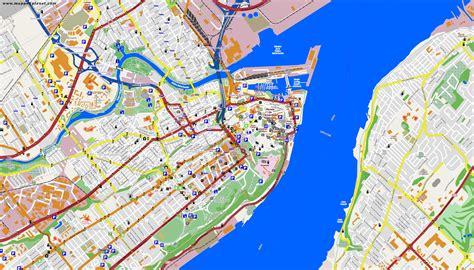 map  quebec city  surrounding area map  quebec