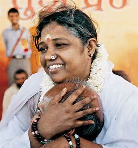 Amma (Mata Amritanandamayi) - Founder of Embracing the World