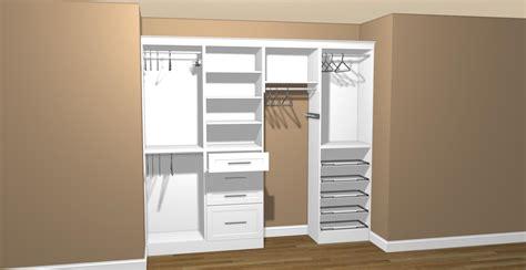 ready made closet cabinets closet easy closets costco rta closets seville closet