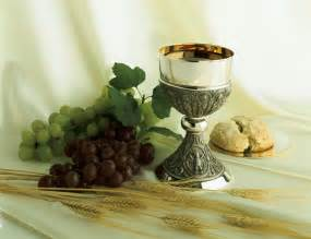 Bread and Wine Communion High Resolution