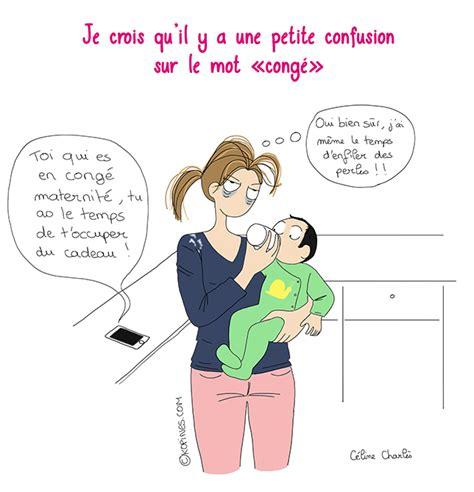 calendrier sur le bureau le congé maternité vu par les autres les bd kopines