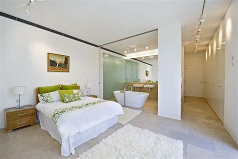 bed with attached modern master bedrooms with en suite bathroom designs abpho