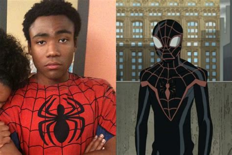 donald glover for spiderman donald glover gets to be spider man after all in a