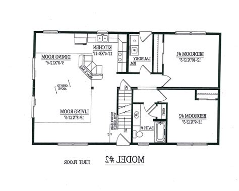 free floor plans for homes free printable home plans