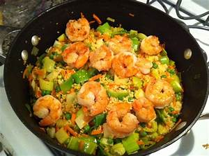 Healthy weekday dinner: Skillet Shrimp and Couscous! | The ...