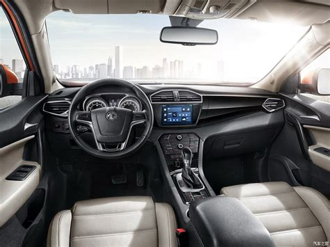 outdoor  interior images   mg gs suv surface
