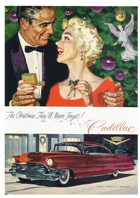 christmas madness  classic car ads   holiday theme  daily drive consumer guide