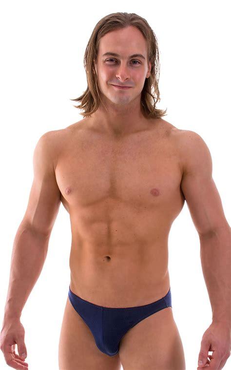 bikini  swimsuit  semi sheer thinskinz navy blue