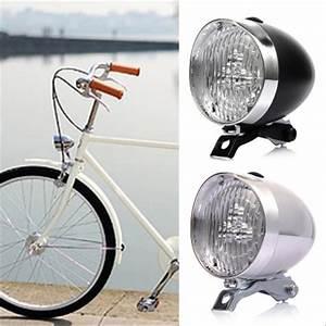 Jual Lampu Depan Sepeda Model Classic    Vintage    Onthel Warna Hitam Di Lapak Cars Shop