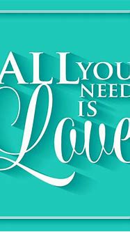 All You Need is Love - Inspirational Canvas Quotes ...