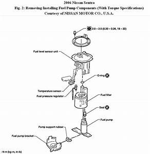 2006 Nissan Frontier Fuel Filter Location