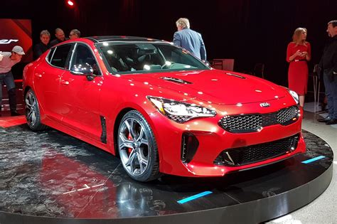 KIA Car :  New Stinger Fastback Unveiled In