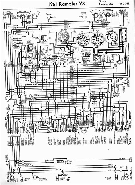 Rambler Wiring Diagrams The Old Car Manual Project
